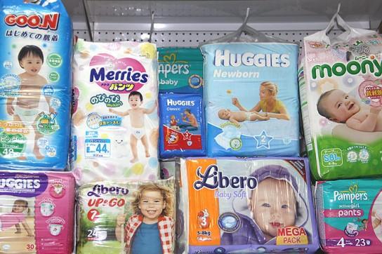 памперсы для детей