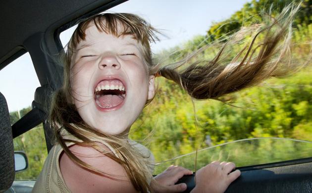 путешествие в машине