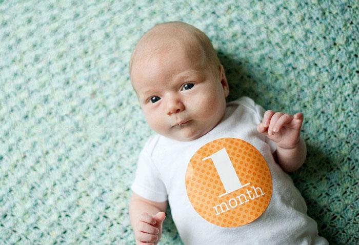 ребенок один месяц