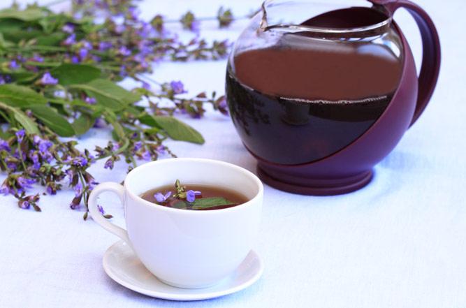 чай с шалфея
