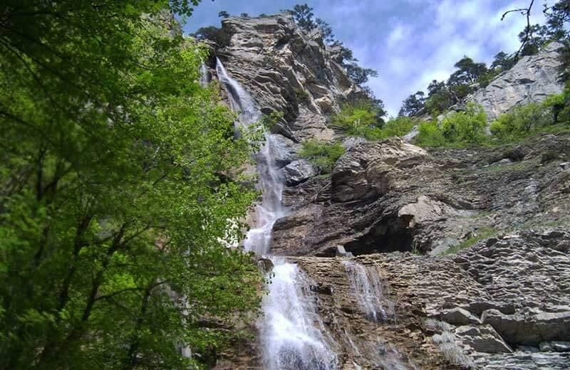 Водопад чан-Су