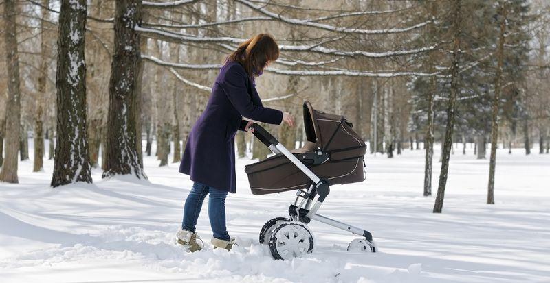 прогулка с малышом