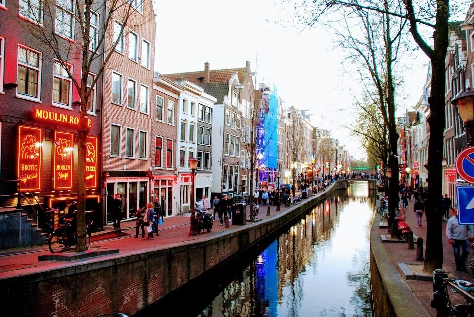 Амстердам отдых