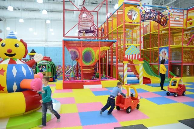 Игровые центры и парки