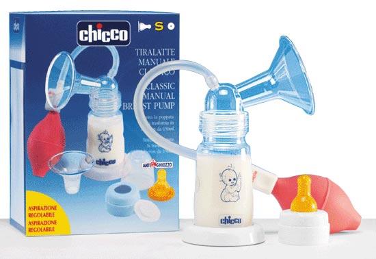 Chicco помповый с бутылочкой