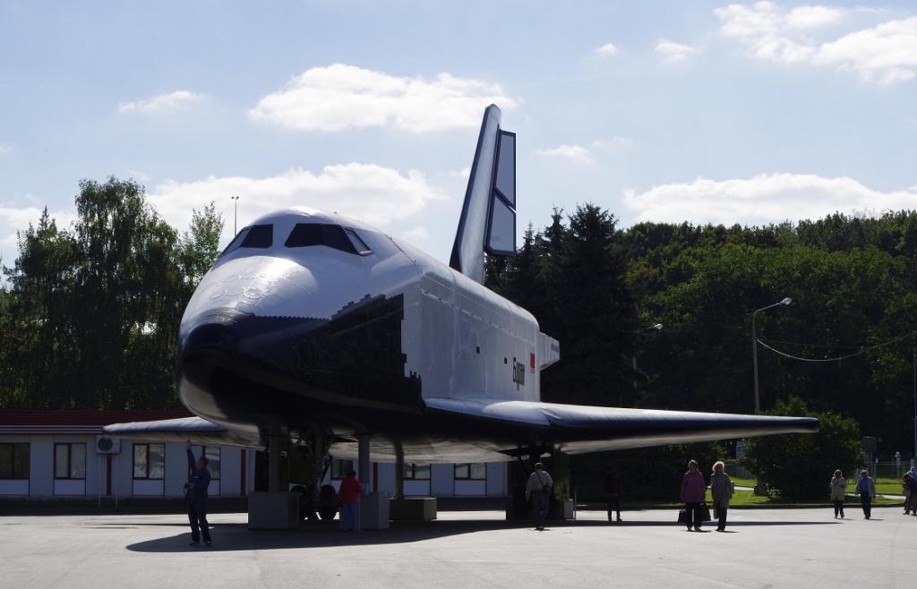 Макет космического корабля «Буран»