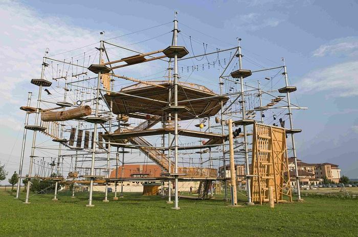 Веревочный парк Sky Town