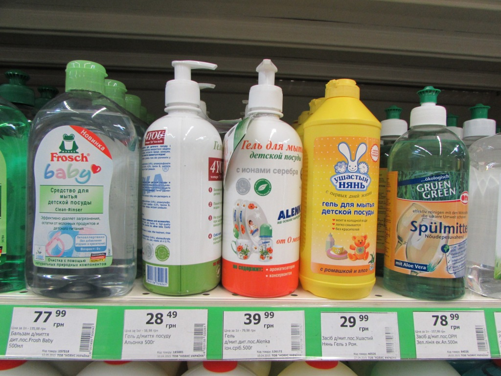 Средства для мытья детской посуды рейтинг