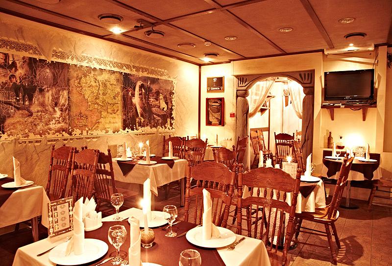 Уютное городское кафе «У Бильбо»