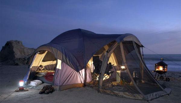Палаточные лагеря, кемпинг