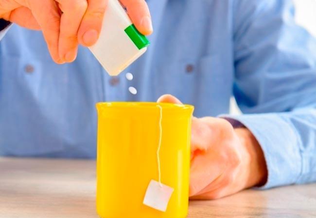 сахарозаменитель при гв