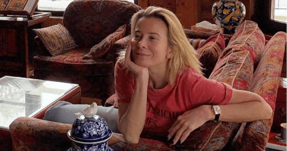 Юлия Высоцкая демонстрирует естественную красоту
