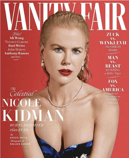 Как прежде желанна: 51-летняя Николь Кидман обнажилась для журнала