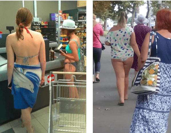 Как наши люди раздражают своим полуголым видом местных на курортах