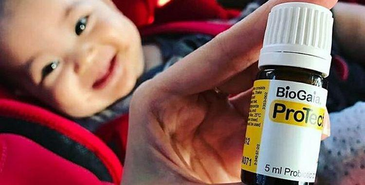 препарат и ребенок
