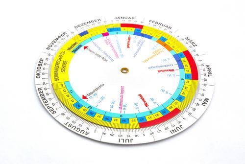 календарь круглый