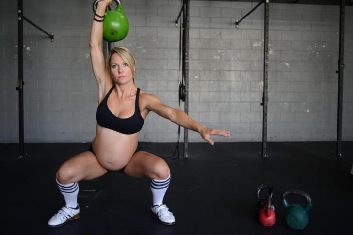 какой вес можно поднимать беременным